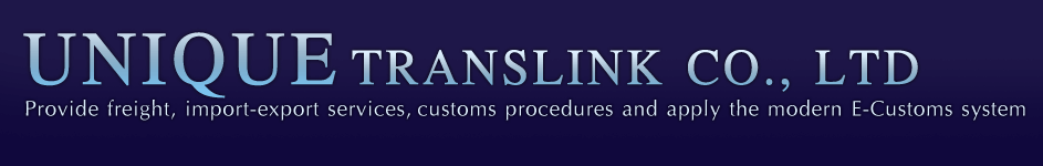 UNIQUE TRANSLINK CO.,LTD IS RECOGNIZED FOR THE IMPORTANCE OF INFORMATION TECHNOLOGY AND COMPETITIVE